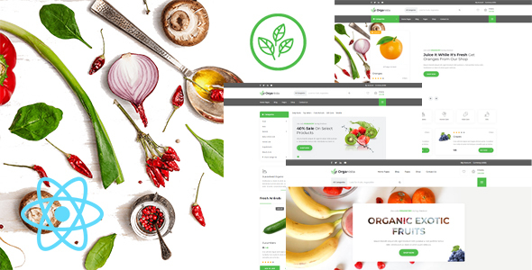 Organista – Organic Food React Template