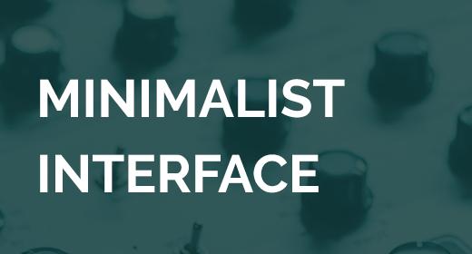 Minimalist Interface