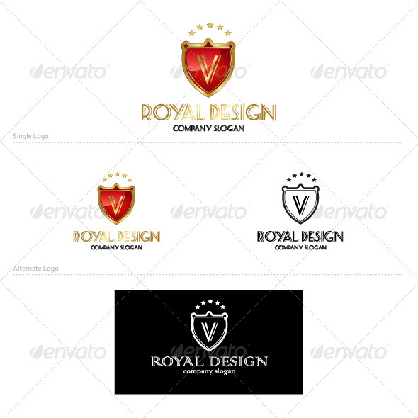 Royal Design - Crests Logo Templates