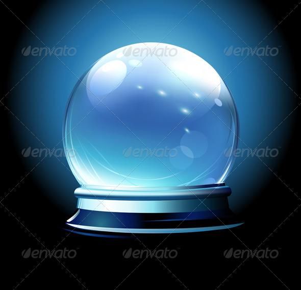 Crystal ball  - Christmas Seasons/Holidays