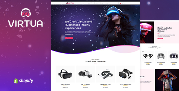 Virtux - One Product Store Shopify Theme