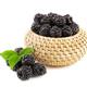 Fresh blackberry with leaf - PhotoDune Item for Sale