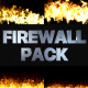 Fire Walls Pack   Premiere Pro MOGRT - VideoHive Item for Sale