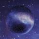 360 degree space nebula panorama, equirectangular projection. HDRI