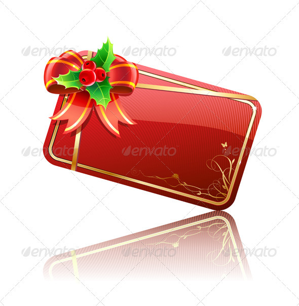 Gift card  - Borders Decorative