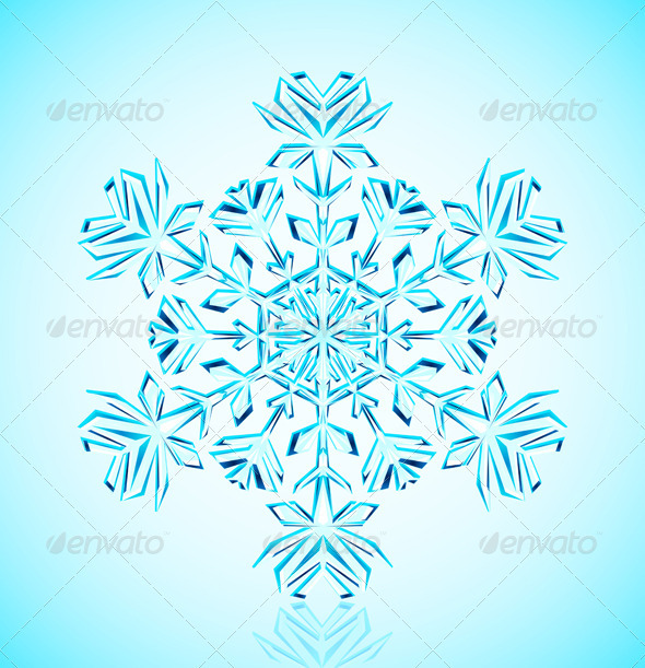 Snowflake crystal - Christmas Seasons/Holidays