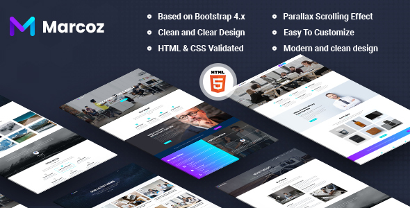 Marcoz - Multi-Purpose HTML Template