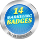 14 Modern Marketing Badges - GraphicRiver Item for Sale