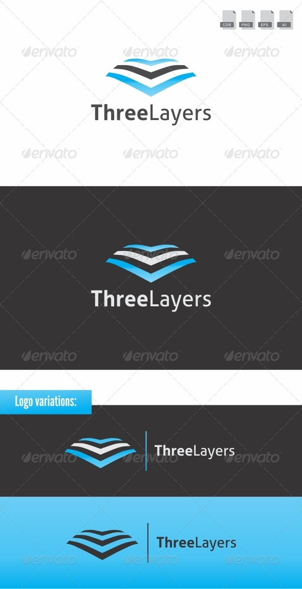 Three Layers - Abstract Logo Templates