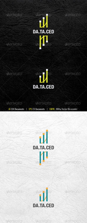 DataCed Logo Template - Abstract Logo Templates