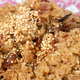 Close-up on traditional Chinese glutinous rice with pork, sausage, mushroom and sesame. - PhotoDune Item for Sale