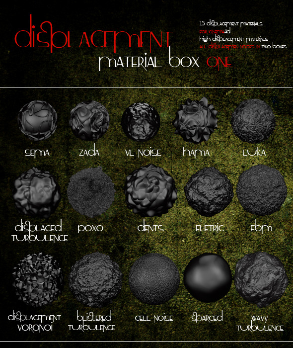 Displacement Box 1 - 3DOcean Item for Sale