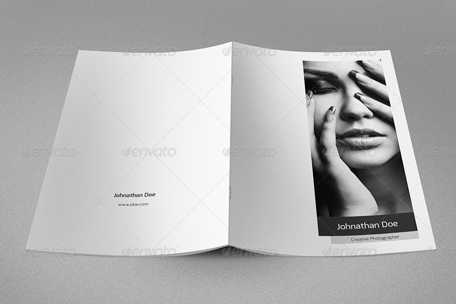Minimal Resume Booklet & Cover Letter by env1ro | GraphicRiver