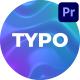 Animated Typography - For Premiere Pro - VideoHive Item for Sale