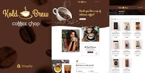 KoldBrew – Coffee Shop Shopify Theme