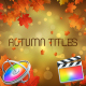 Autumn Titles - Apple Motion - VideoHive Item for Sale