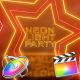 Neon Light Party Opener - Apple Motion - VideoHive Item for Sale