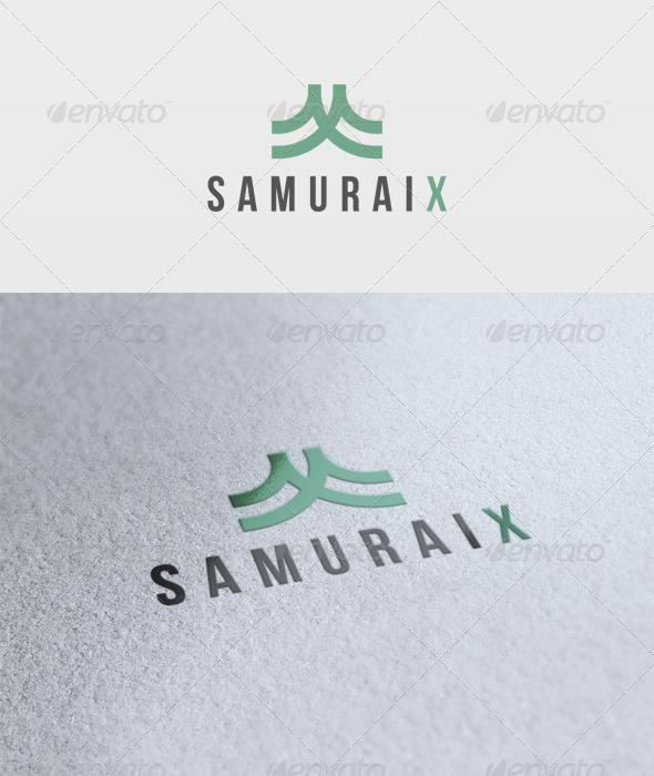 Samuraix Logo - Letters Logo Templates