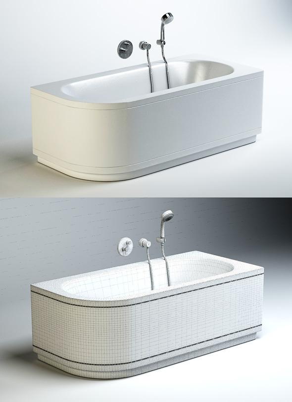 Quality 3dmodel of bath Bettestarlet V Comfort - 3DOcean Item for Sale
