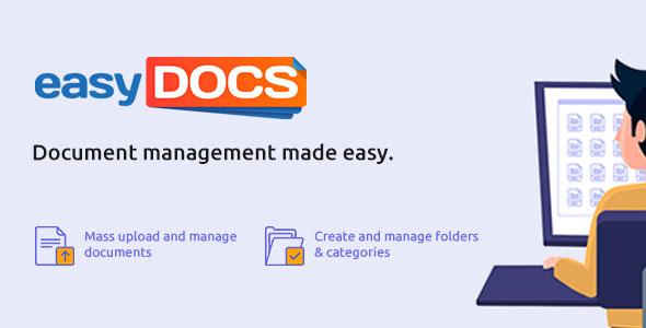 wpEasyDocs mass document management plugin