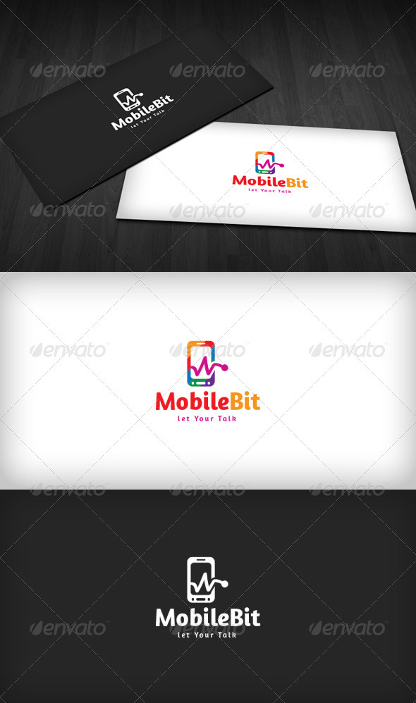 Mobile Bit Logo - Objects Logo Templates