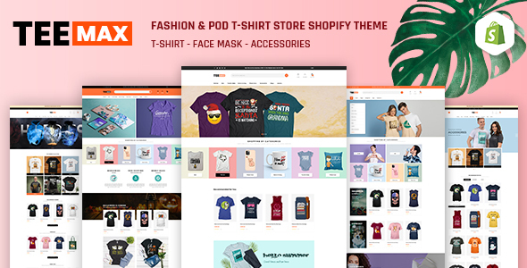 TeeMax | Fashion & POD T-Shirt Store Shopify Theme