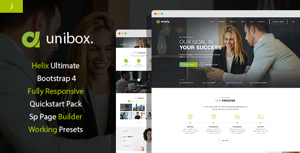 Unibox – Multipurpose Corporate Business Joomla Template