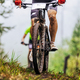 dirty feet cyclist athlete in mountain bike - PhotoDune Item for Sale