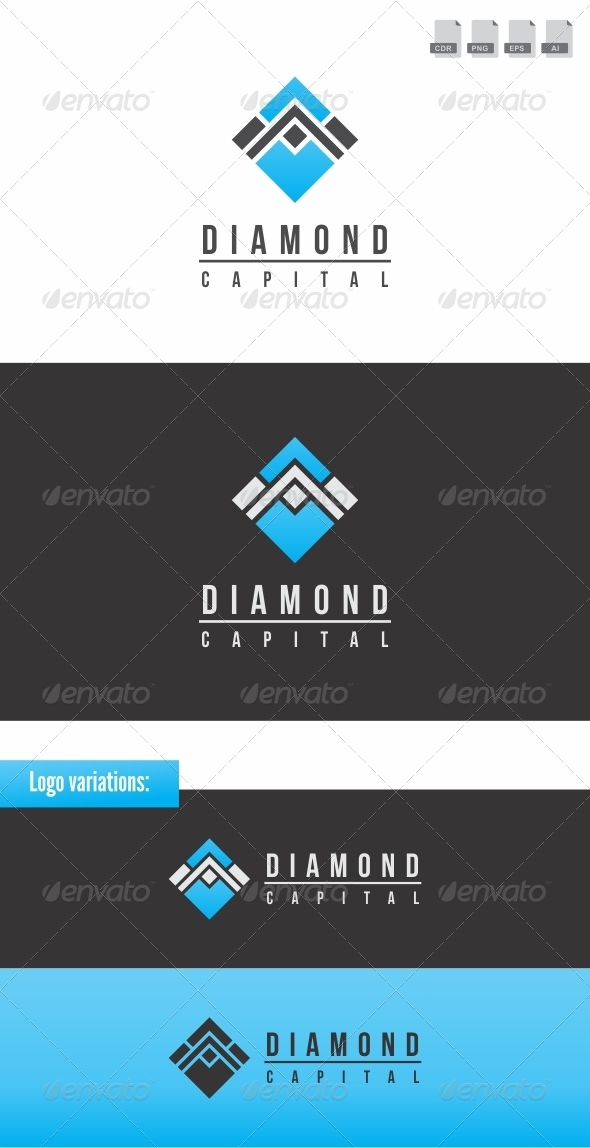 Diamond Capital - Abstract Logo Templates