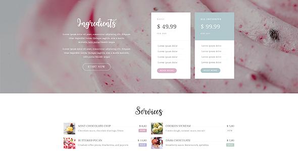 Eis - Ice Cream Shop WordPress Theme by planet-themes | ThemeForest