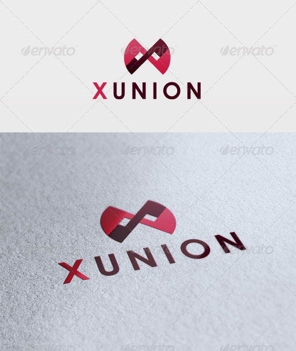 Xunion Logo - Letters Logo Templates