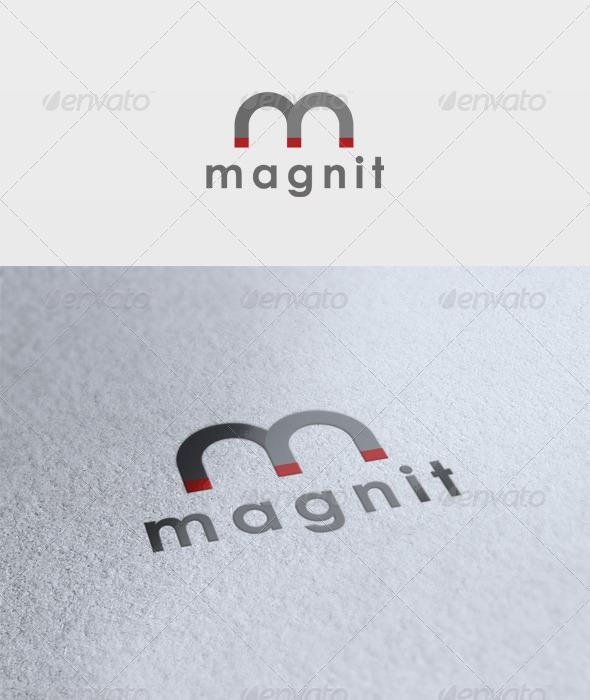 Magneto Logo - Letters Logo Templates