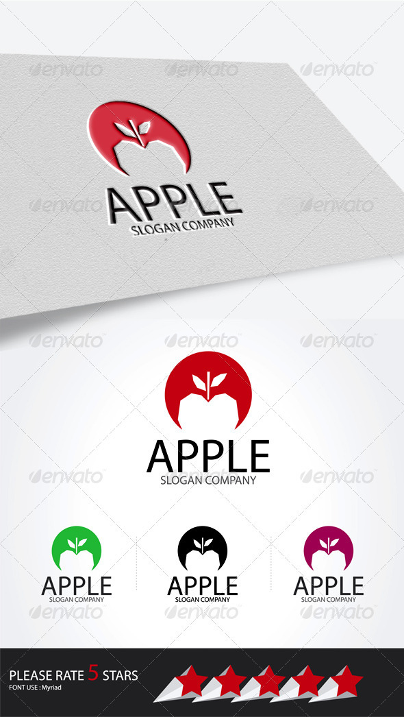 APPLE studio logo - Symbols Logo Templates