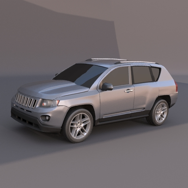 Jeep Compass SUV vehicle - 3DOcean Item for Sale