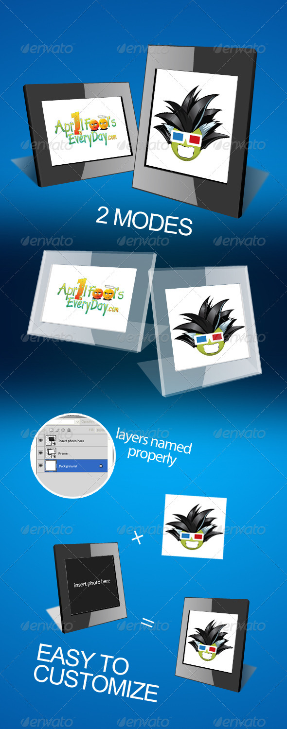 Photo Frames - Tech / Futuristic Photo Templates