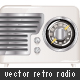 Retro Radio 01 - GraphicRiver Item for Sale
