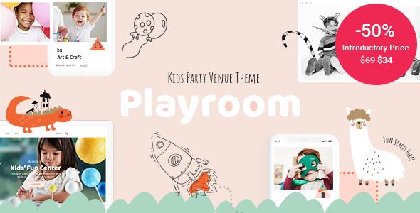 Playroom - Kids Party Venue Theme