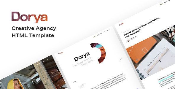 Dorya | Creative Agency HTML Template