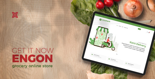 Engon – Grocery Online Store Templates