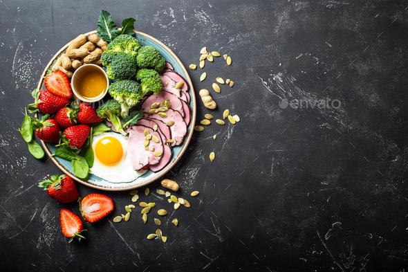 Keto diet concept - Stock Photo - Images