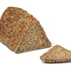 Fresh triangle loaf of German healthy rye seed bread - PhotoDune Item for Sale