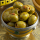 Traditional spicy Moroccan olives in a bowl - PhotoDune Item for Sale