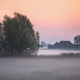foggy sunrise on farmland - PhotoDune Item for Sale