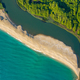 Picturesque coastline with river and sea - PhotoDune Item for Sale