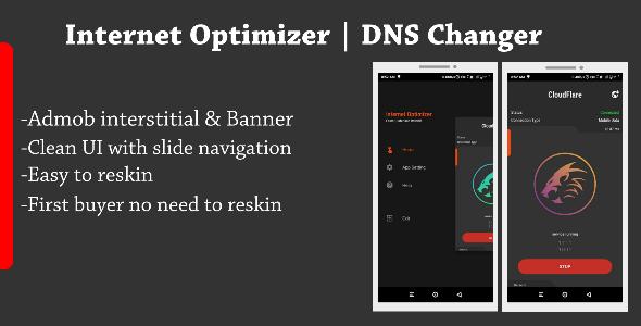 Internet Optimizer - DNS Changer