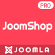 JoomShop - Responsive Joomla JoomShopping Template