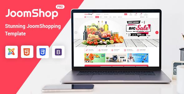 JoomShop – Responsive Joomla JoomShopping Template