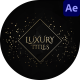 Elegant Luxury Wedding Titles - VideoHive Item for Sale