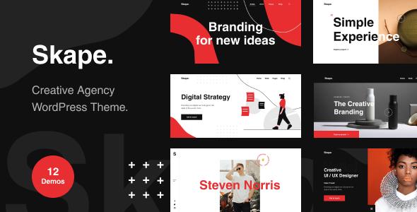 Skape – Creative & Modern Agency WordPress Theme