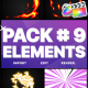 Flash FX Elements Pack 09 | FCPX - VideoHive Item for Sale